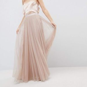 Needle & Thread Maxi Tulle Skirt with Tags on!